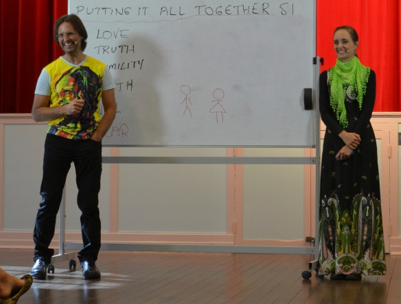 Jesus and Mary, Seminar at Murgon QLD, Augus,t 2013
