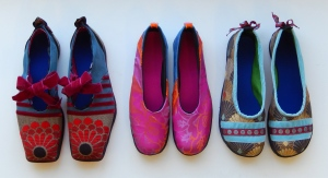 20140811 Three pairs of women's shoes